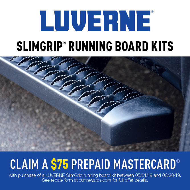SlimGrip™ Running Boards Promotion 2019