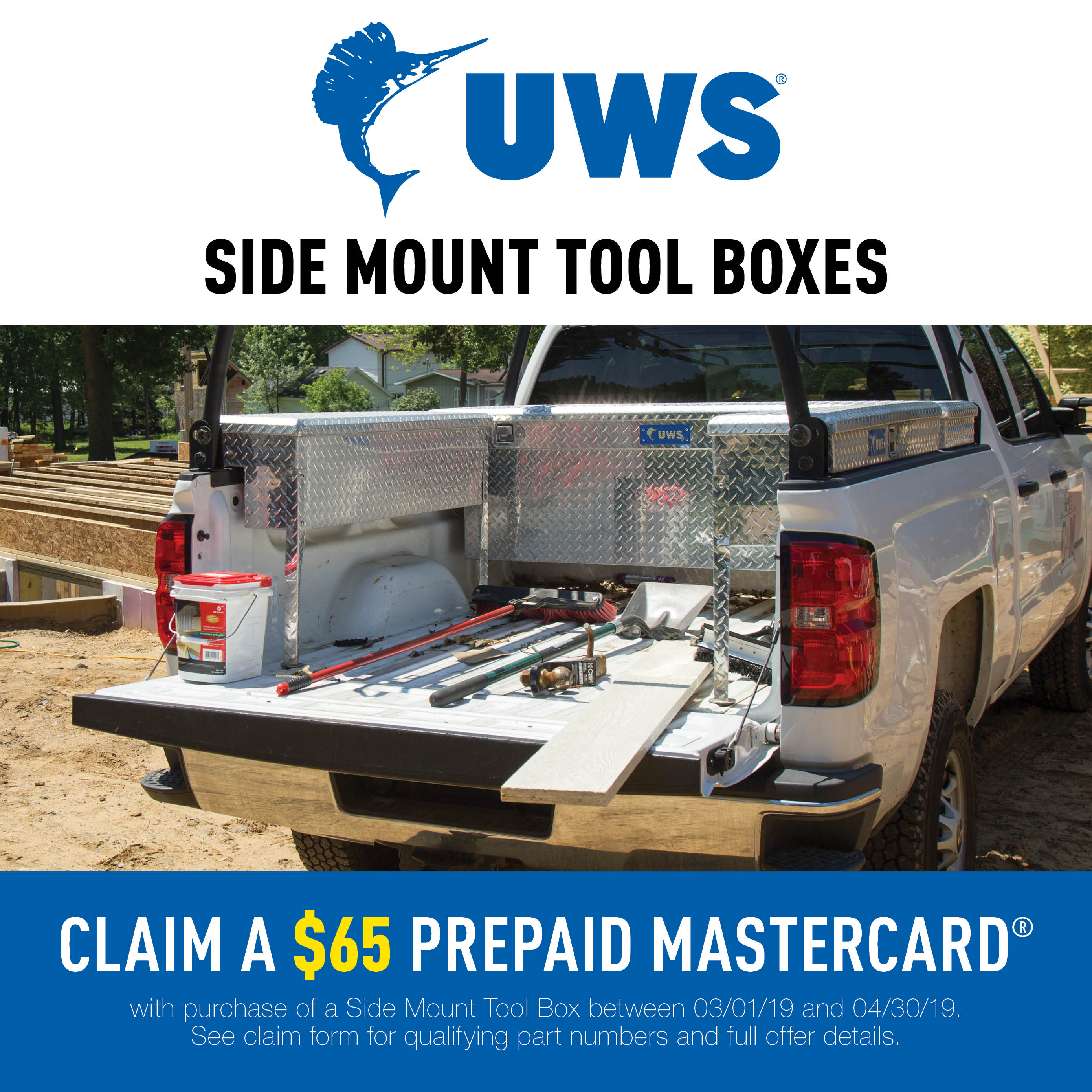 UWS Side Mount Tool Boxes Promotion 2019