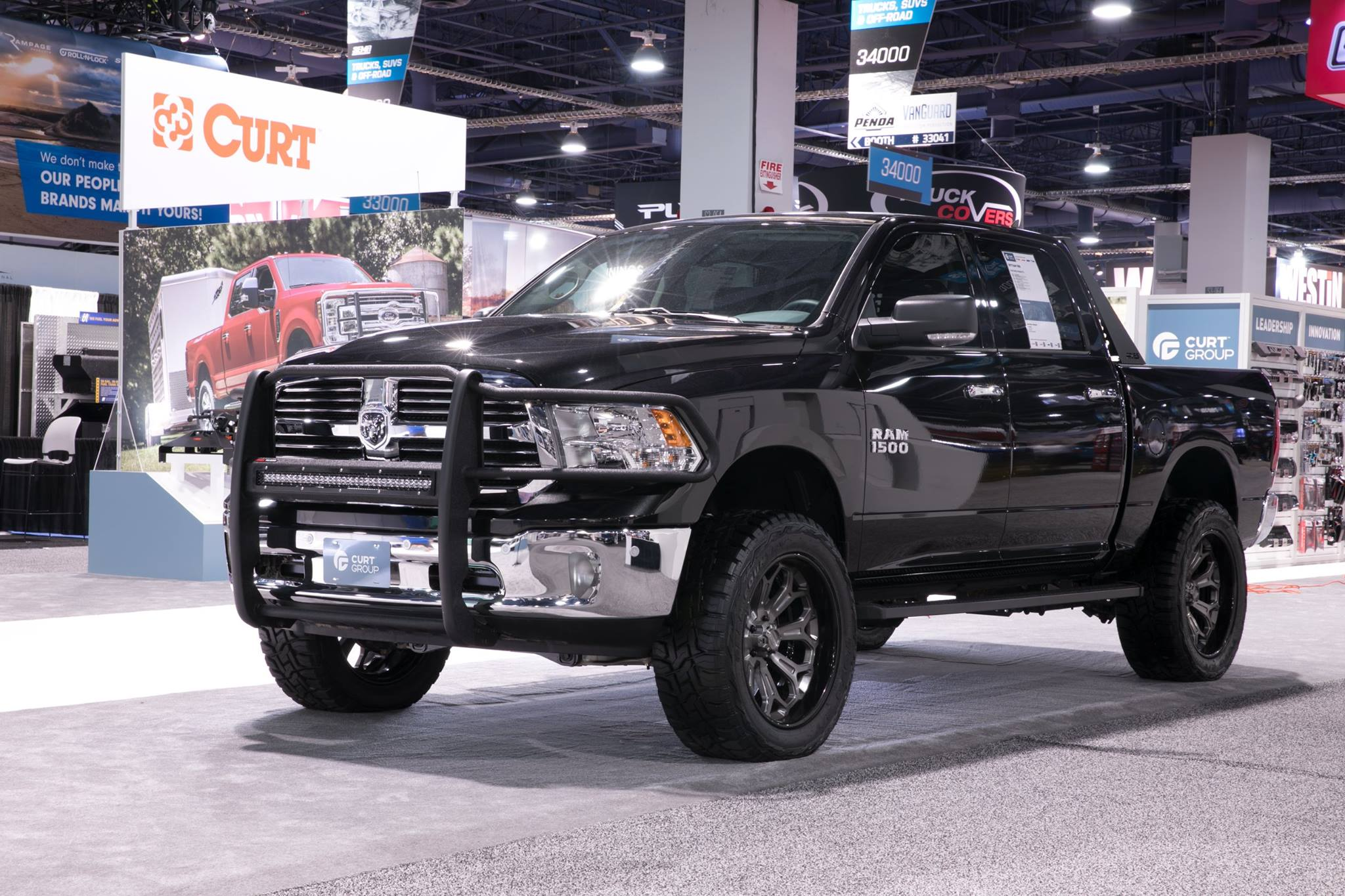 SEMA 2017 TEAM ARIES DODGE RAM 1500