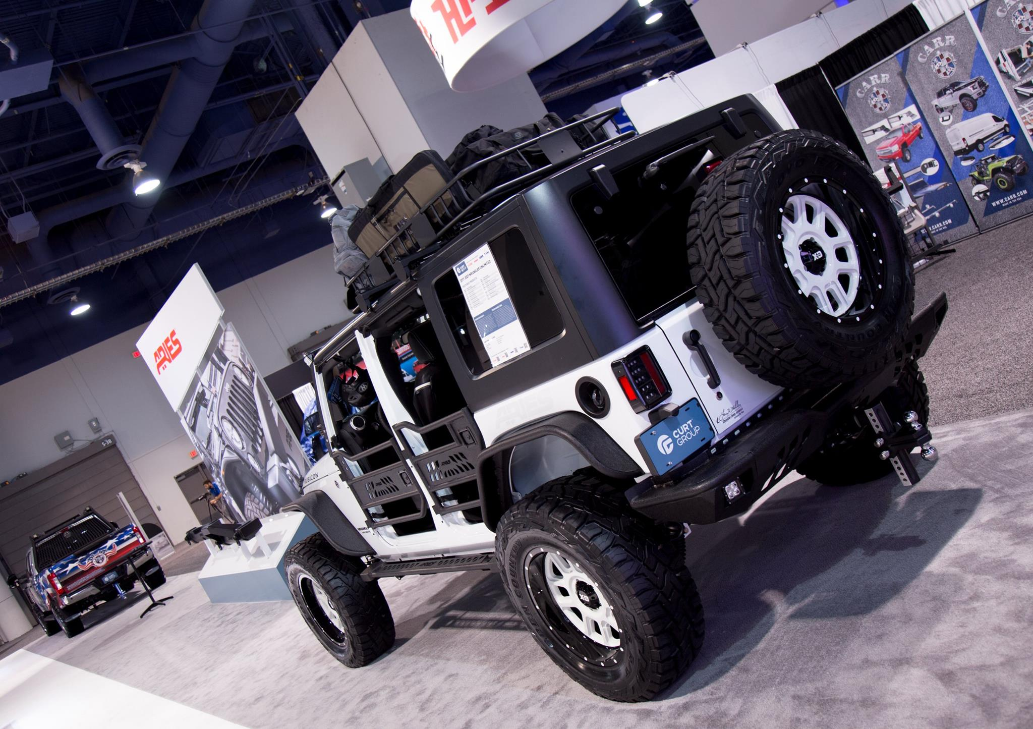 SEMA 2017 TEAM ARIES JEEP WRANGLER-PROMOTORSPORTS & TROOPSDIRECT BUILD