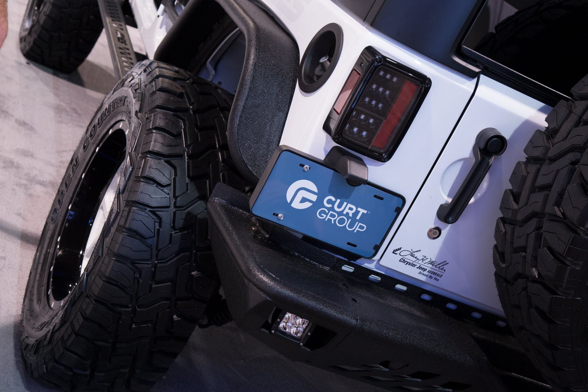 SEMA 2017 TEAM ARIES JEEP WRANGLER