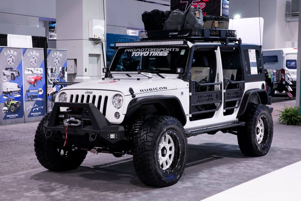 SEMA 2017 TEAM ARIES JEEP WRANGLER-PROMOTORSPORTS & TROOPSDIRECT
