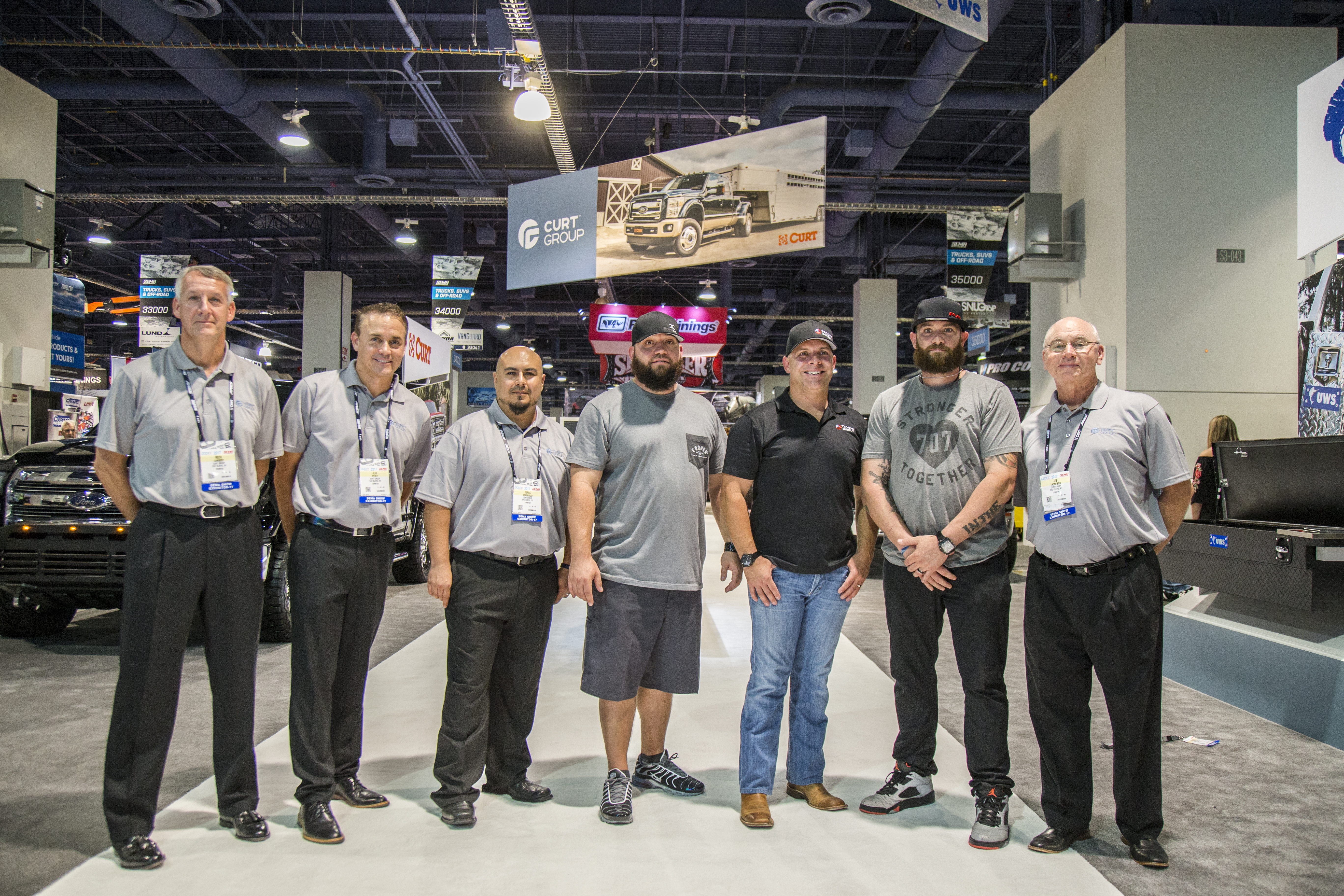 SEMA 2017 CURT GROUP