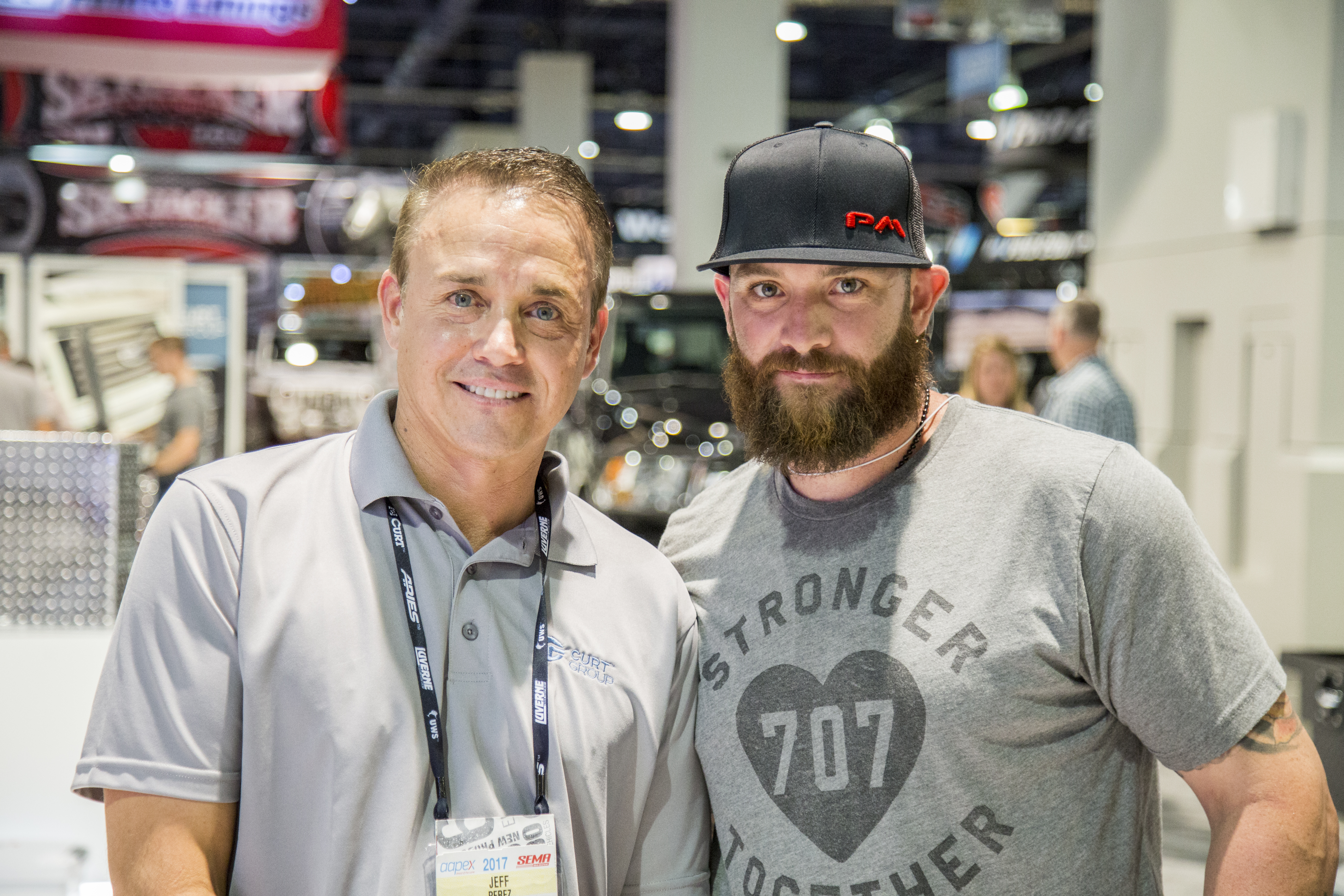 SEMA 2017 Jeff Perez & Johnny Gomes