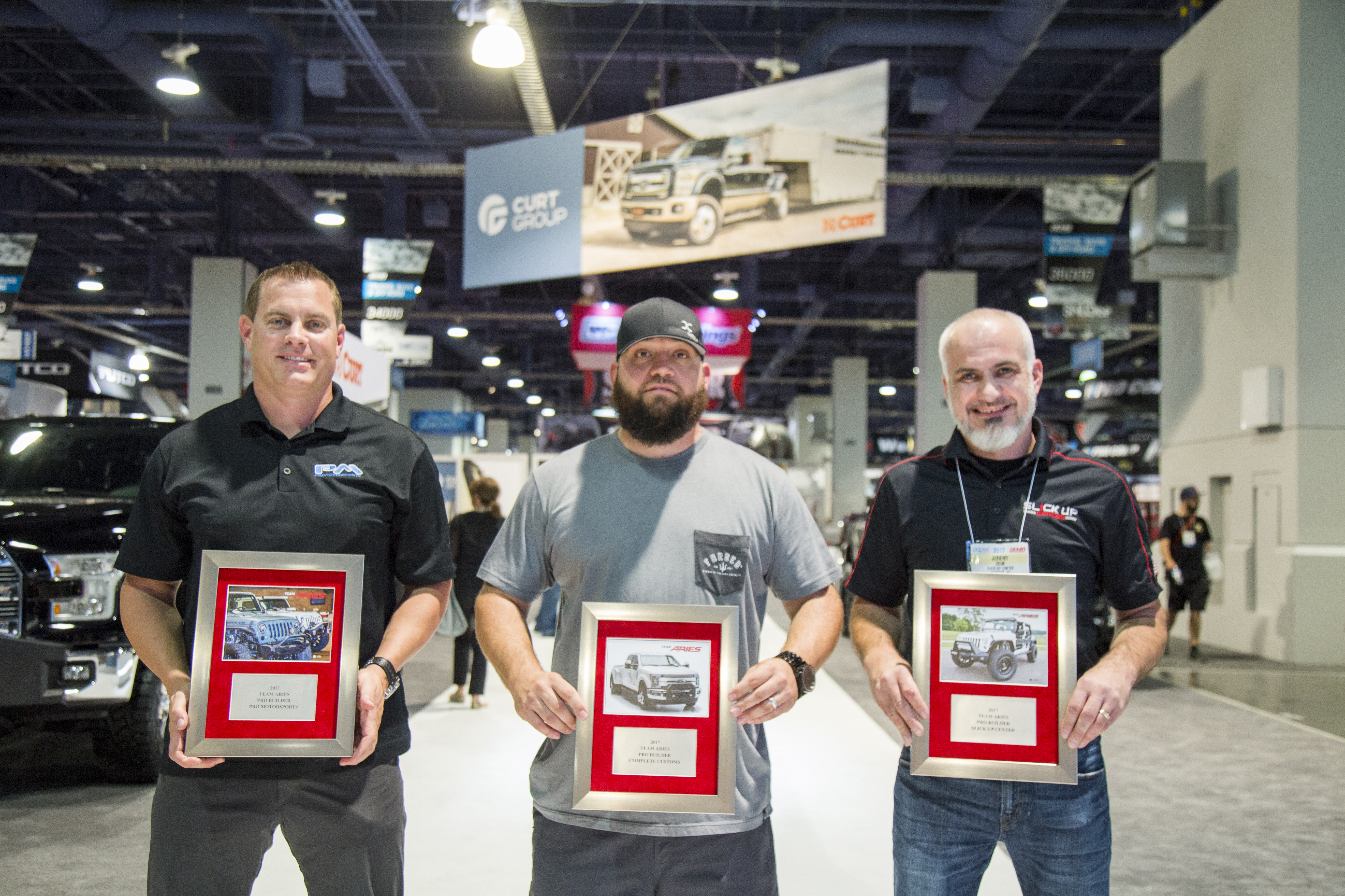 SEMA 2017 CURT GROUP PRO BUILDERS