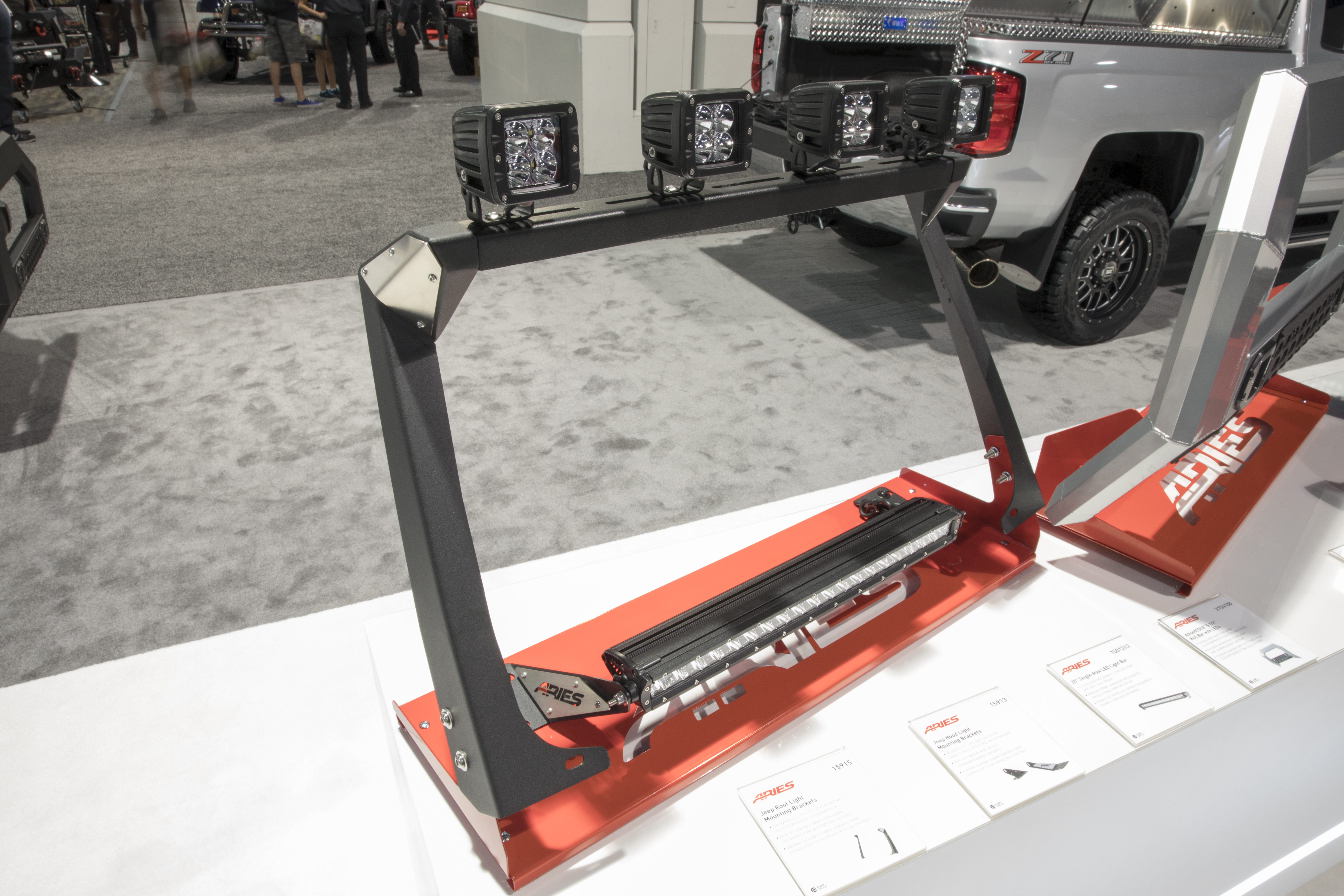 SEMA 2017 LIGHT MOUNT DISPLAY