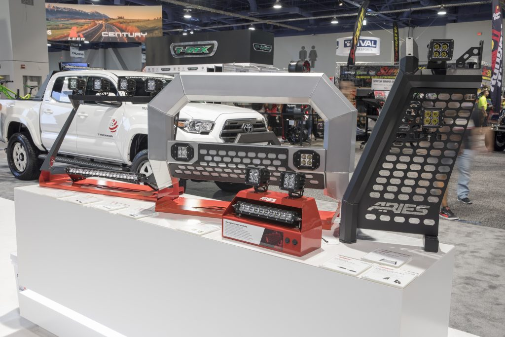 SEMA 2017 ARIES PRODUCTS DISPLAY