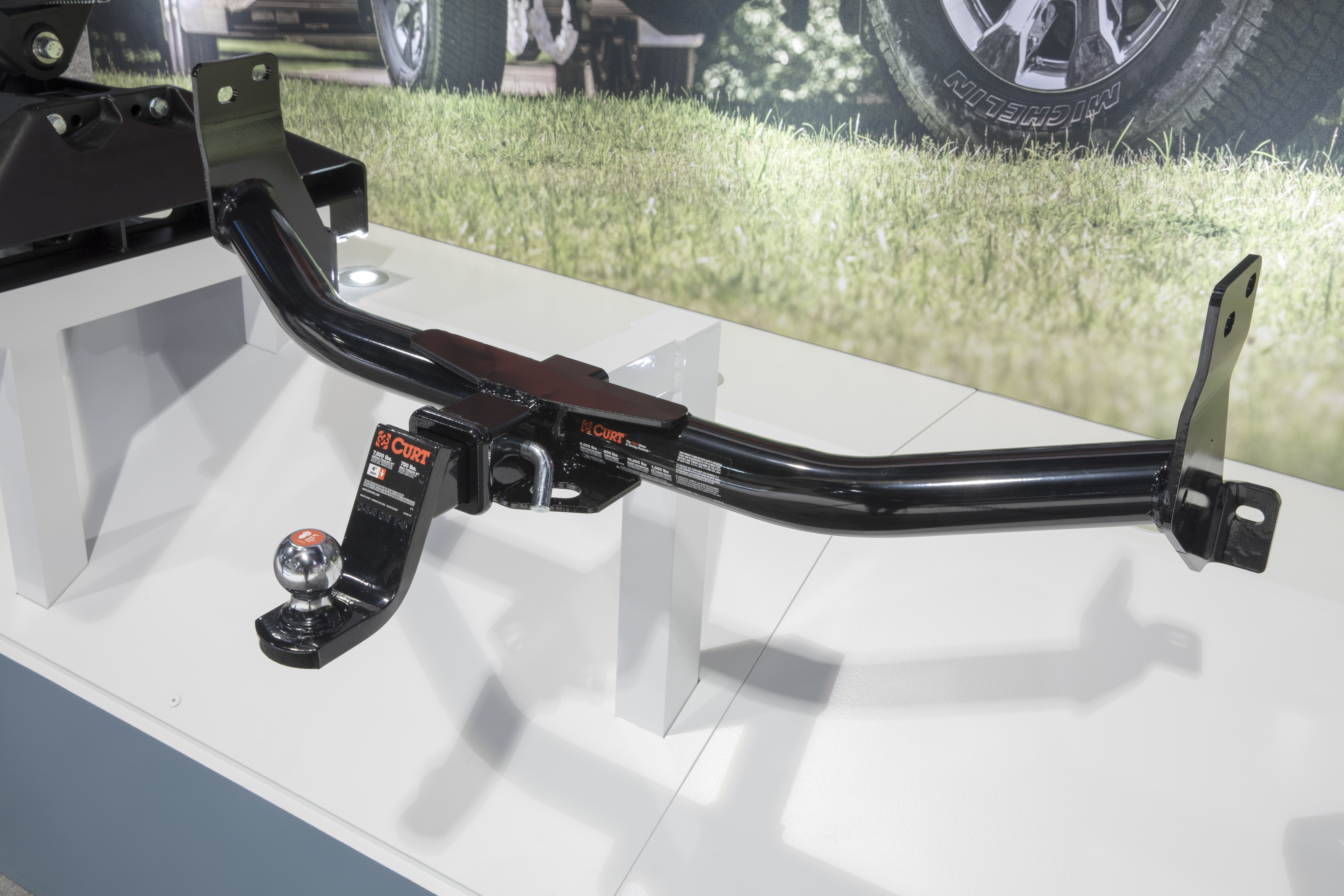 SEMA 2017 CURT REAR MOUNT HITCH