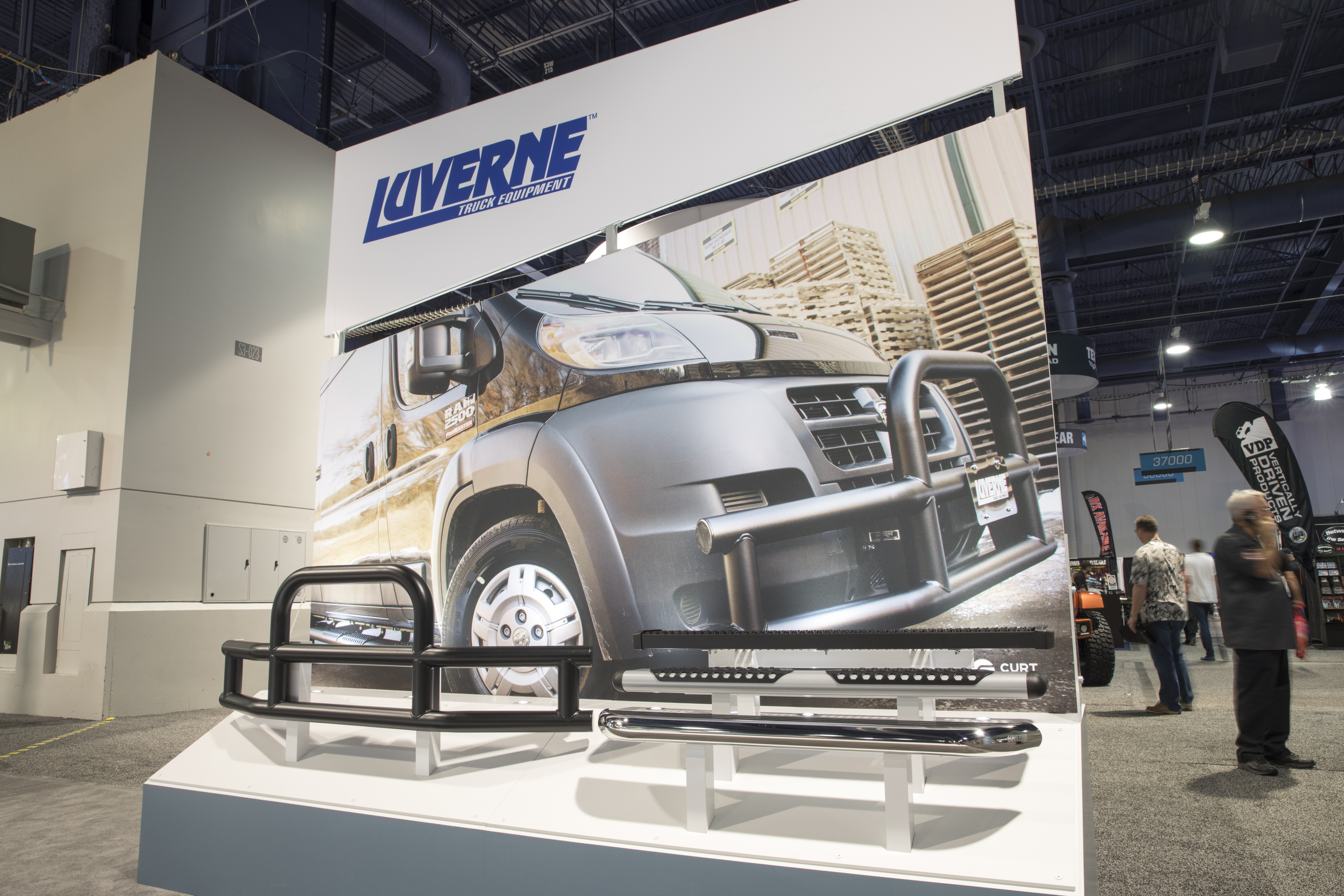 SEMA 2017 LUVERNE DISPLAY