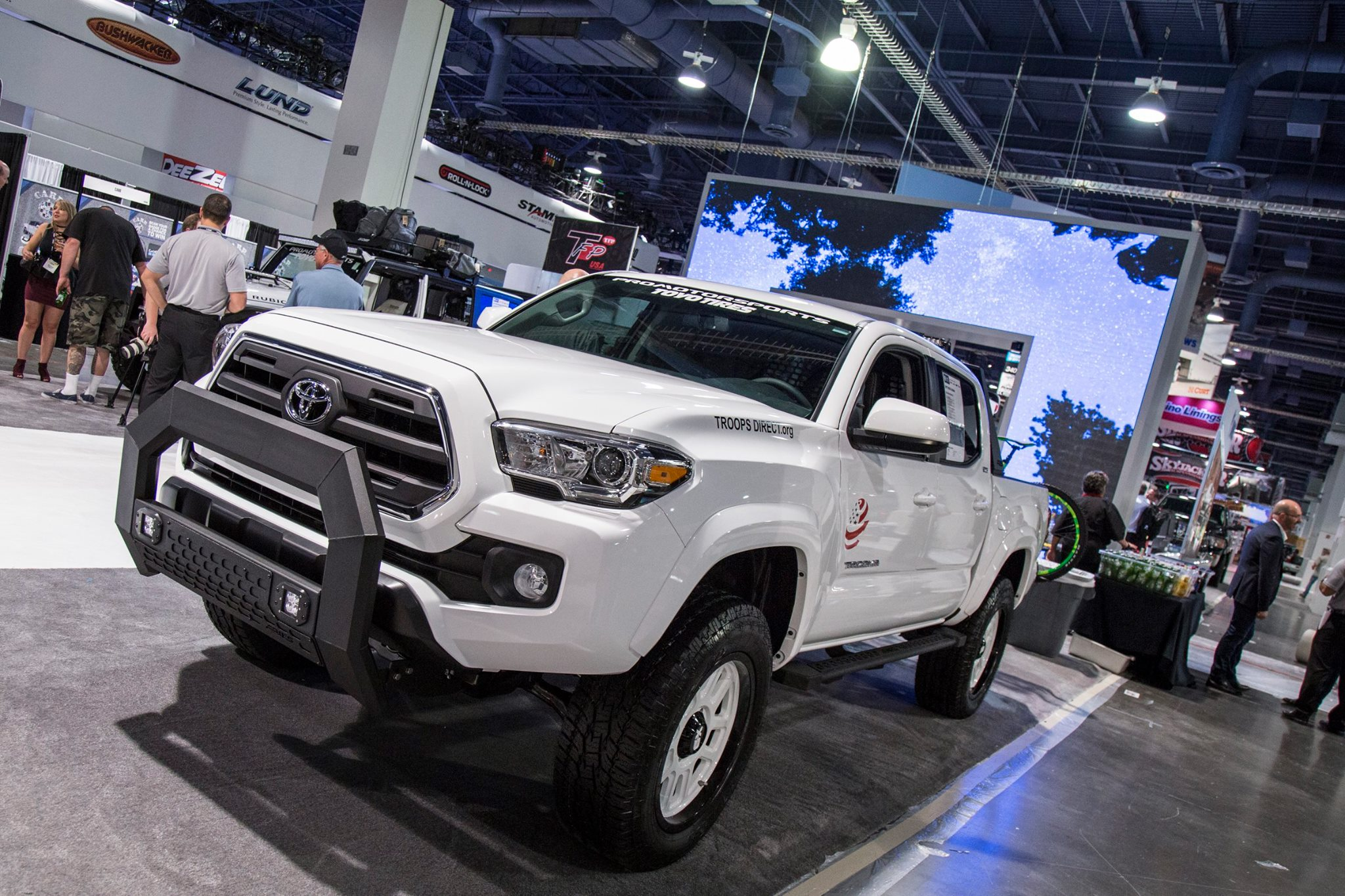SEMA 2017 TEAM ARIES TOYOTA TACOMA TROOPSDIRECT