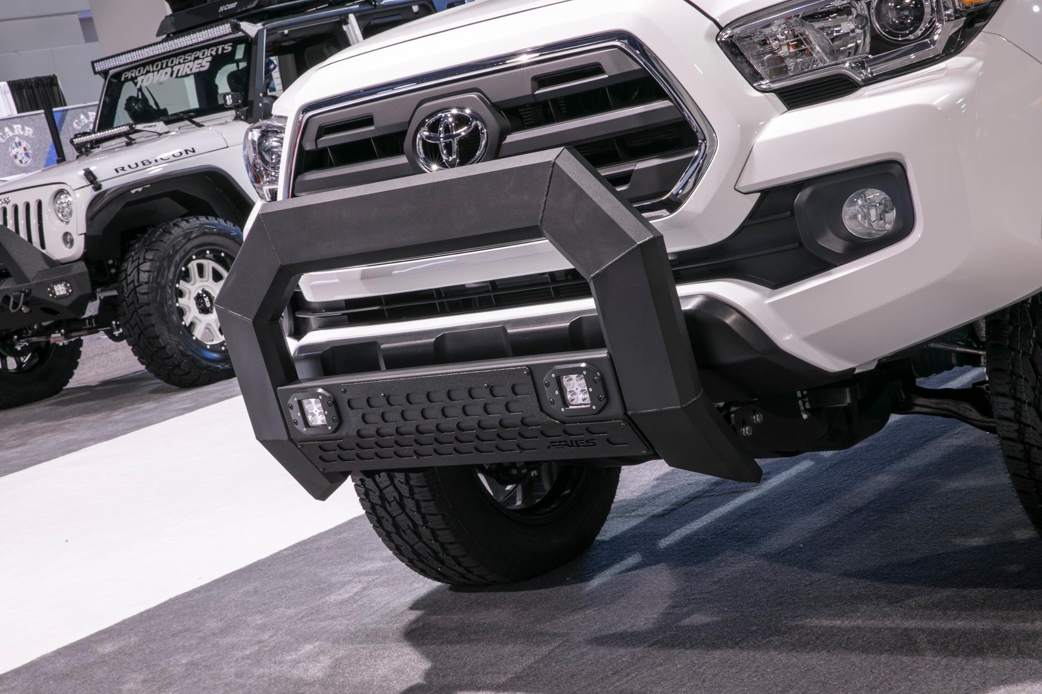 SEMA 2017 TEAM ARIES TOYOTA TACOMA TROOPSDIRECT BULL BAR