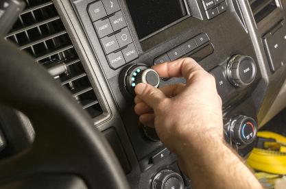 CURT Spectrum™ trailer brake controller rotary knob
