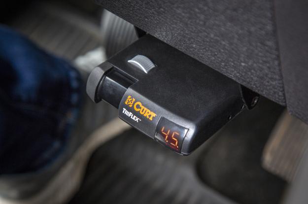 CURT brake controller TriFlex™
