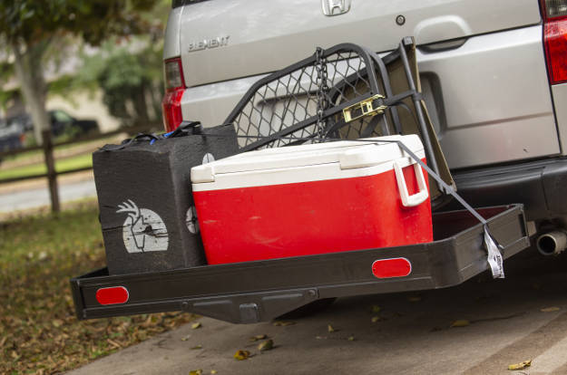 CURT basket-style hitch cargo carrier