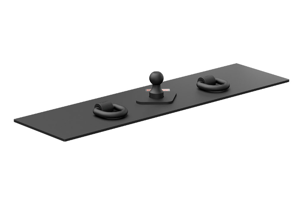 CURT gooseneck hitch - over-bed fixed ball