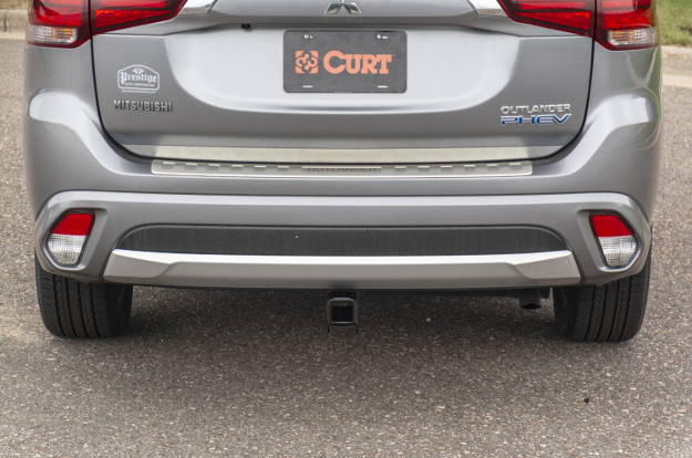 CURT custom hitch on 2018 Mitsubishi Outlander