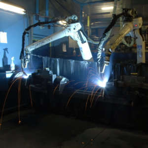 CURT receiver hitches robotic welding