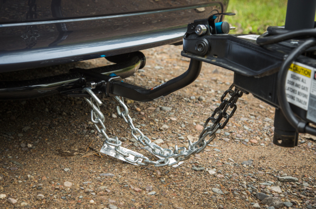 CURT trailer safety chains for towing