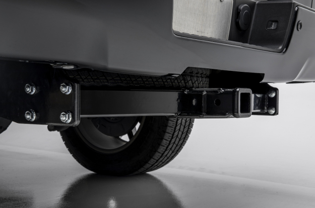 CURT multi-fit trailer hitch receiver