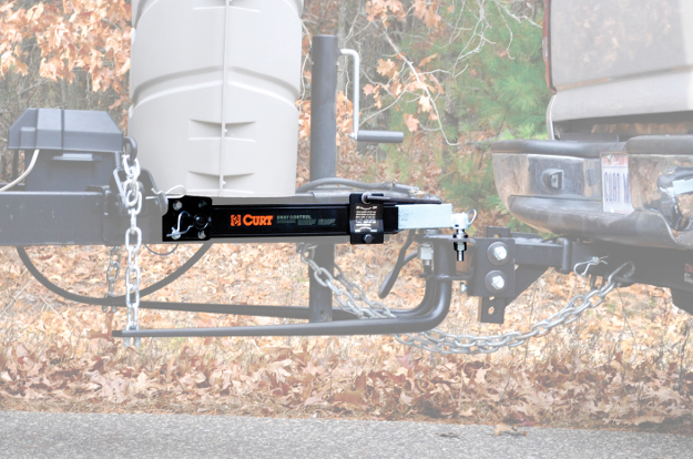 CURT sway control on weight distributing hitch