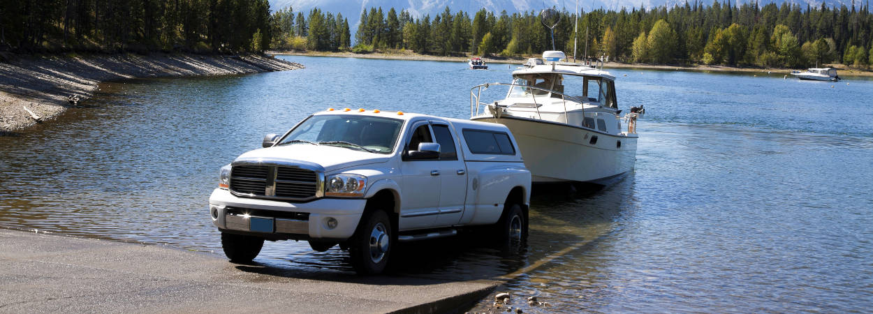 Truck Boat Launch Trailer Towing Guide