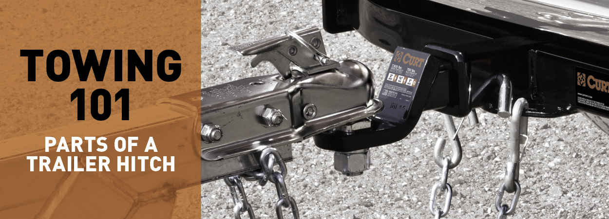 Parts of a Trailer Hitch - Towing 101 - CURT