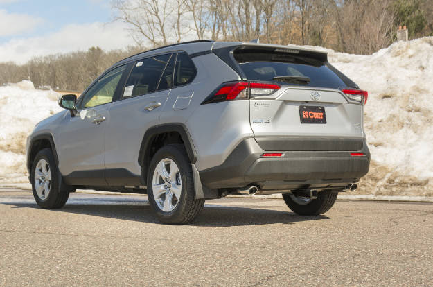 Toyota SUV Hidden Hitch Concealed Frame