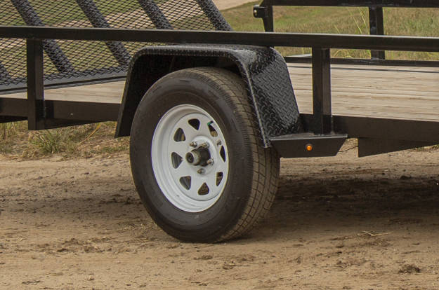 Electric Trailer Brakes in Wheel