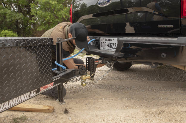 Hooking Up Safety Chains