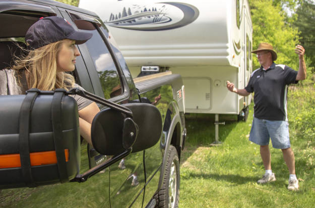 10 Easy Steps - How to Hook Up a Trailer Wiring Up Trailer Lights on trailer hitch wiring lights, 4 wire trailer lights, wiring a 4 point hitch, 4 wire electrical lights, wire up trailer lights,
