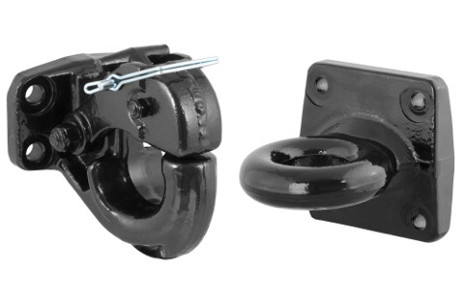 Pintle hook and lunette ring