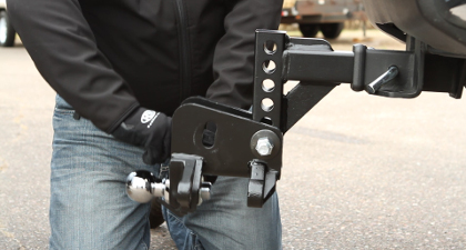 A guide to diy trailer hitch installation step 4 position the head assembly on the adjustable shank the head should be raised into position so that the top of the trailer ball is one to three publicscrutiny