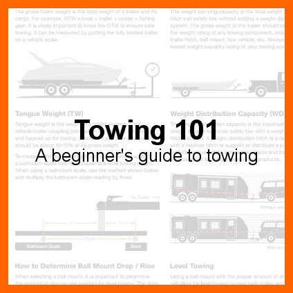 Towing 101 - A Beginner's Guide to Towing