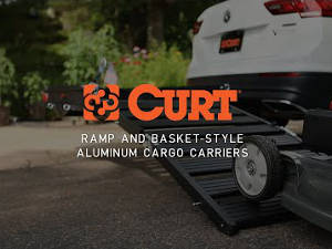 Aluminum Ramp & Basket-Style Hitch Carriers Video