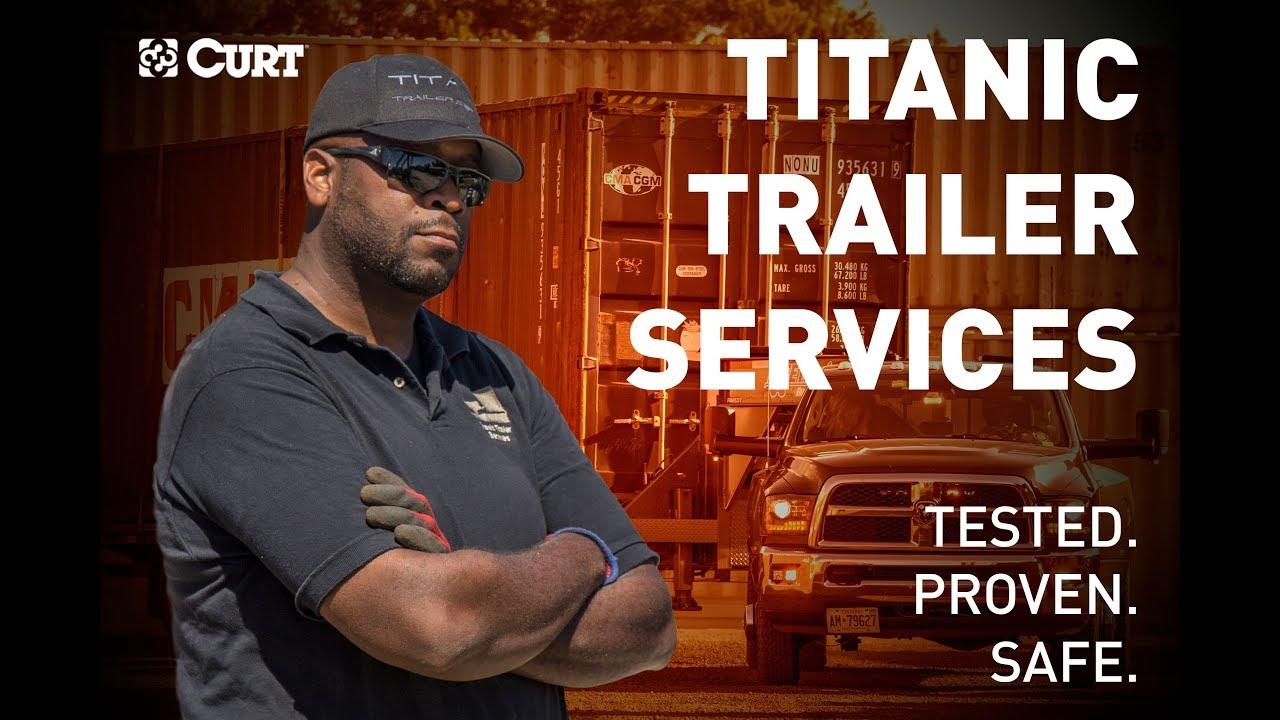 Titanic Trailer Services Video