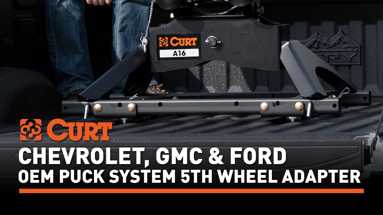 CURT Puck System Rails 16027 Video