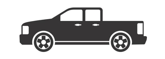 CURT Short-Bed Pickup Truck Diagram