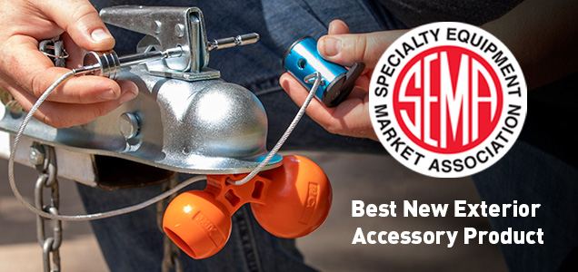 Universal Tri-Ball Coupler Lock Best New Product
