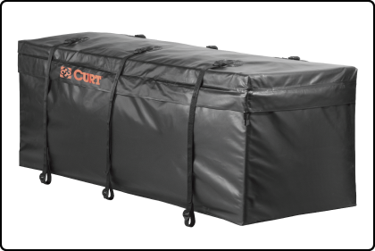 CURT Cargo Bags Are Waterproof And Custom Fitted For CURT Cargo Carriers