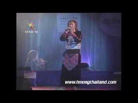 Neeb Xyooj _ Huab Dawb LIVE IN Miss Hmong Thailand 2012