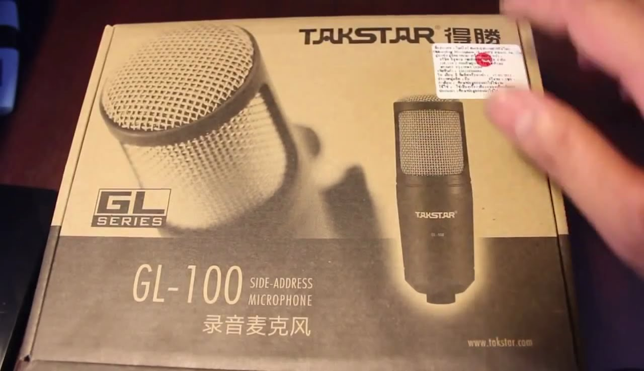 Takstar GL 100FX USB Condenser Microphone Review
