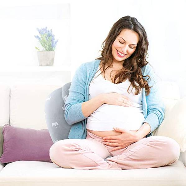 Cuscino Allattamento Per Neonato Luchild Con Poggiatesta 5