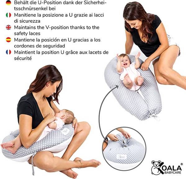 Koala Babycare Cuscino Per Dormire E Allattamento 2