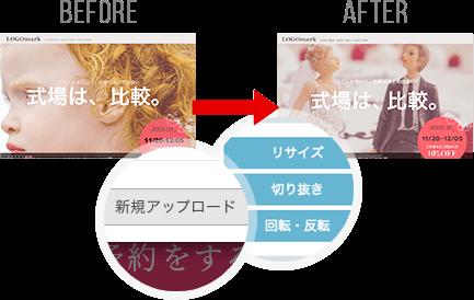 画像の差し替え例