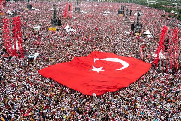 艾多安連任總統 土耳其進入一人統治時代