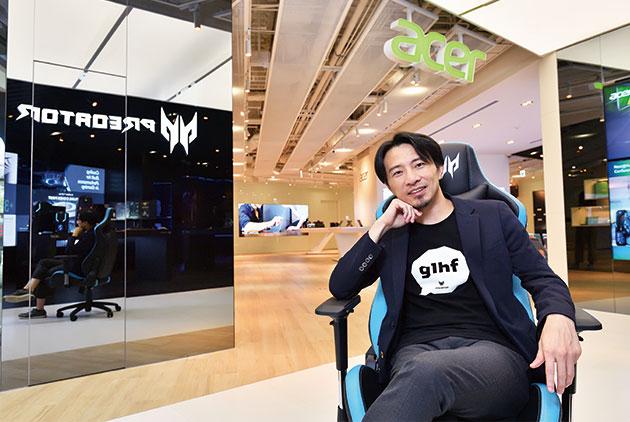 莊子龍:宏碁轉型聚焦電競,布局亞太電競...
