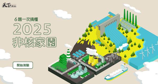 【測驗】6題一次搞懂!2025非核家園