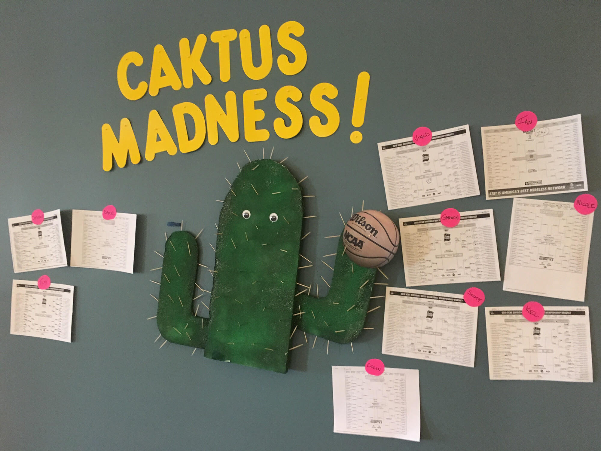 Caktus March Madness