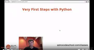 Very First Steps with Python