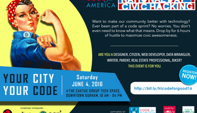 Code for Durham: National Day of Civic Hacking Recap